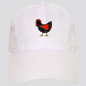 Cute Polka Dot Chicken Baseball Cap