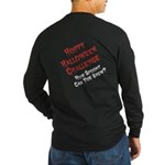 Hoppy Halloween Back Long Sleeve T-Shirt