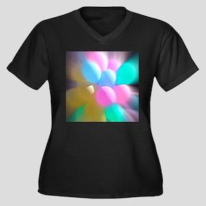 Balloon Frenzy Plus Size T-Shirt