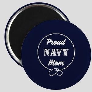 Proud Navy Mom Magnet