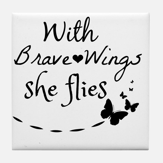 Cute Quotes Tile Coaster