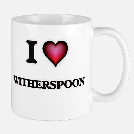 I Love Witherspoon Mugs