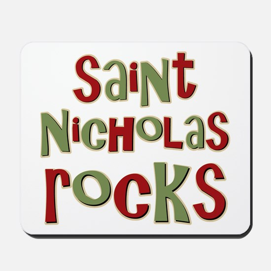Saint Nicholas Rocks Mousepad