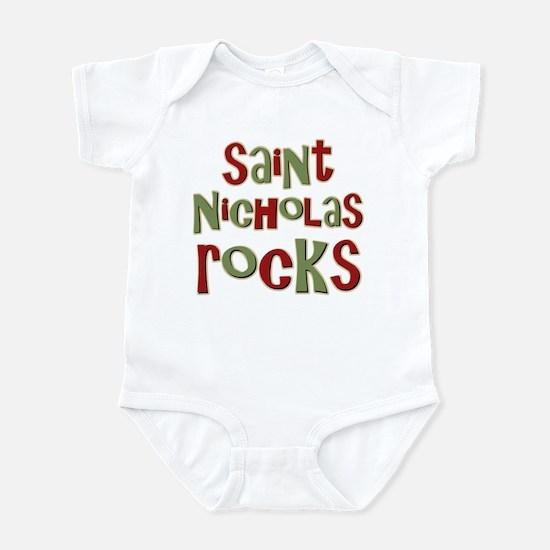 Saint Nicholas Rocks Infant Bodysuit