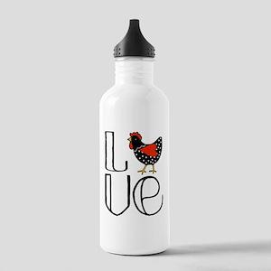 Chicken Love Water Bottle