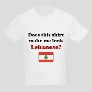 Make Me Look Lebanese Kids Light T-Shirt