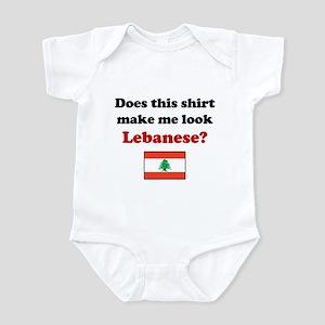 Make Me Look Lebanese Infant Bodysuit