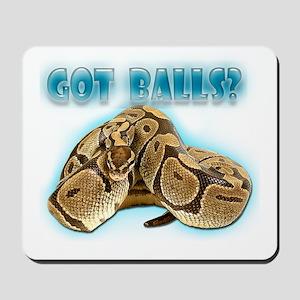PYTHON SNAKE - GOT BALLS? II Mousepad