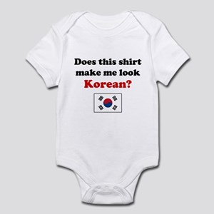 Make Me Look Korean Infant Bodysuit