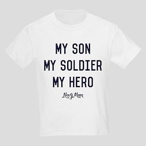 U.S. Navy My Son My Soldier My Kids Light T-Shirt