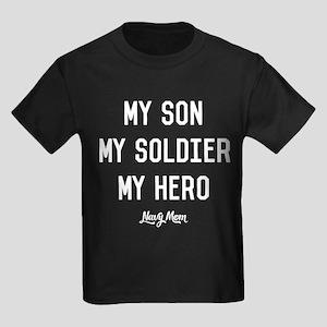 U.S. Navy My Son My Soldier My H Kids Dark T-Shirt