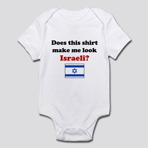 Make Me Look Israeli Infant Bodysuit