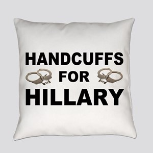 Handcuffs for Hillary! Everyday Pillow