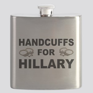 Handcuffs for Hillary! Flask