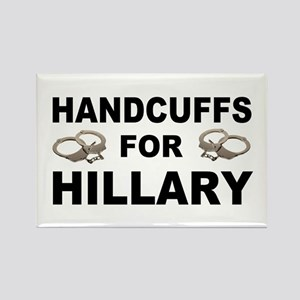 Handcuffs for Hillary! Rectangle Magnet