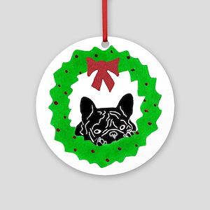 P-Beau's Christmas Ornament (Round)