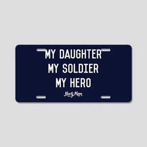 U.S. Navy My Daughter My So Aluminum License Plate