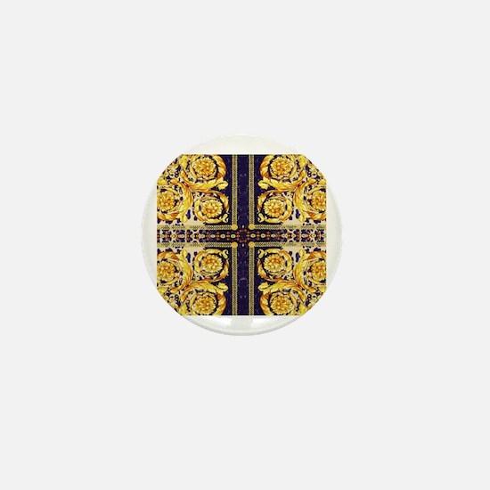 Cool Baroque Mini Button