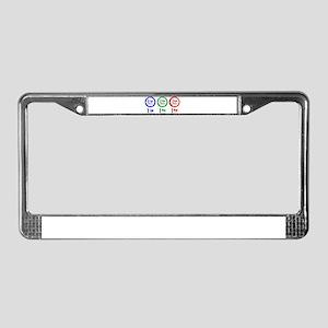 I Heart Monday License Plate Frame