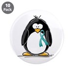 Teal Ribbon Penguin 3.5