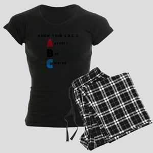 A.nybody B.ut C.linton Pajamas