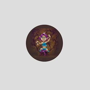 Pesky fairies and elf mini button