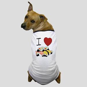 """I heart Sushi"" Dog T-Shirt"