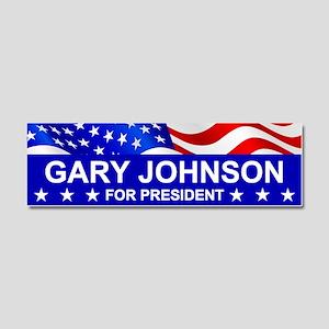 Gary Johnson 2016 Car Magnet 10 X 3