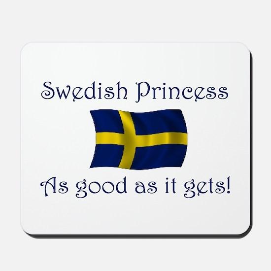 Swedish Princess Mousepad