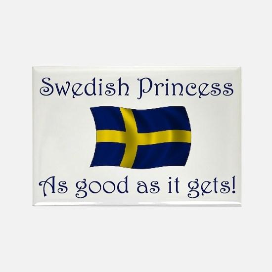 Swedish Princess Rectangle Magnet