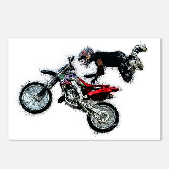 Unique Motocross Postcards (Package of 8)