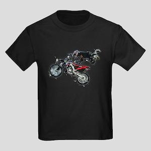 Motocross Jump Splatter T-Shirt