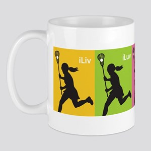 iLiv iLuv iLax Mug