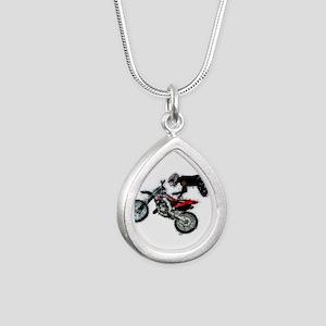 Motocross Jump Splatter Necklaces