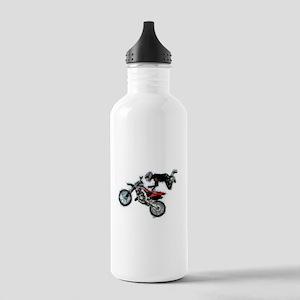 Motocross Jump Splatte Stainless Water Bottle 1.0L