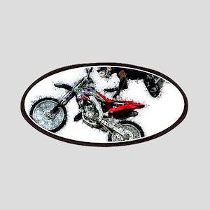 Motocross Jump Splatter Patch