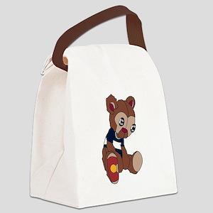 Colorado Bear Canvas Lunch Bag