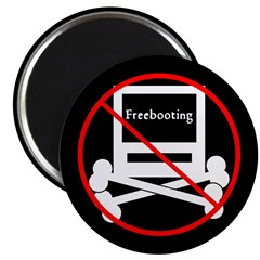 No Freebooting Magnets