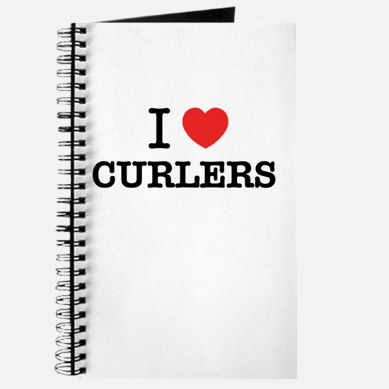 I Love CURLERS Journal