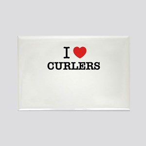 I Love CURLERS Magnets