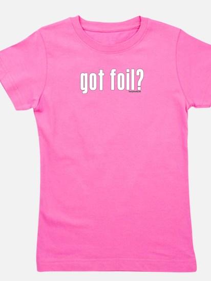 got foil? Women's Dark T-Shirt