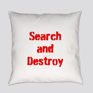 Search and Destroy Everyday Pillow