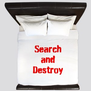 Search and Destroy King Duvet