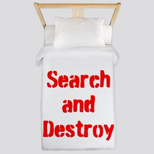 Search and Destroy Twin Duvet