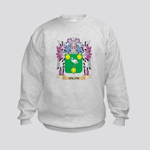 Halpin Coat of Arms (Family Crest) Kids Sweatshirt