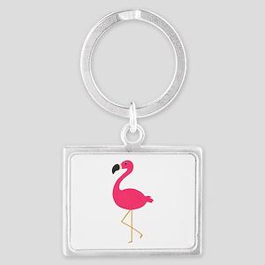 Cute Pink Flamingo Keychains