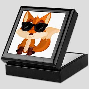Cool Fox Keepsake Box