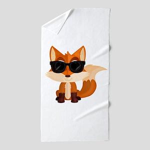 Cool Fox Beach Towel