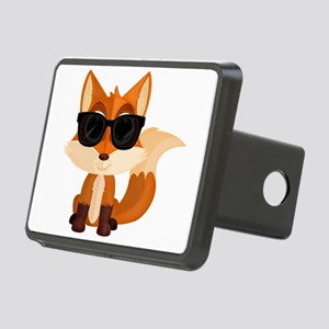 Cool Fox Rectangular Hitch Cover