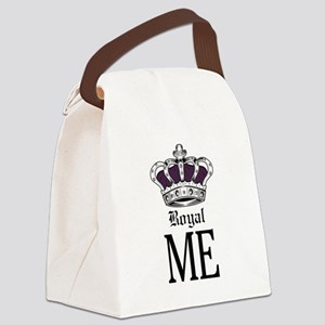 Royal Me - Purple Canvas Lunch Bag